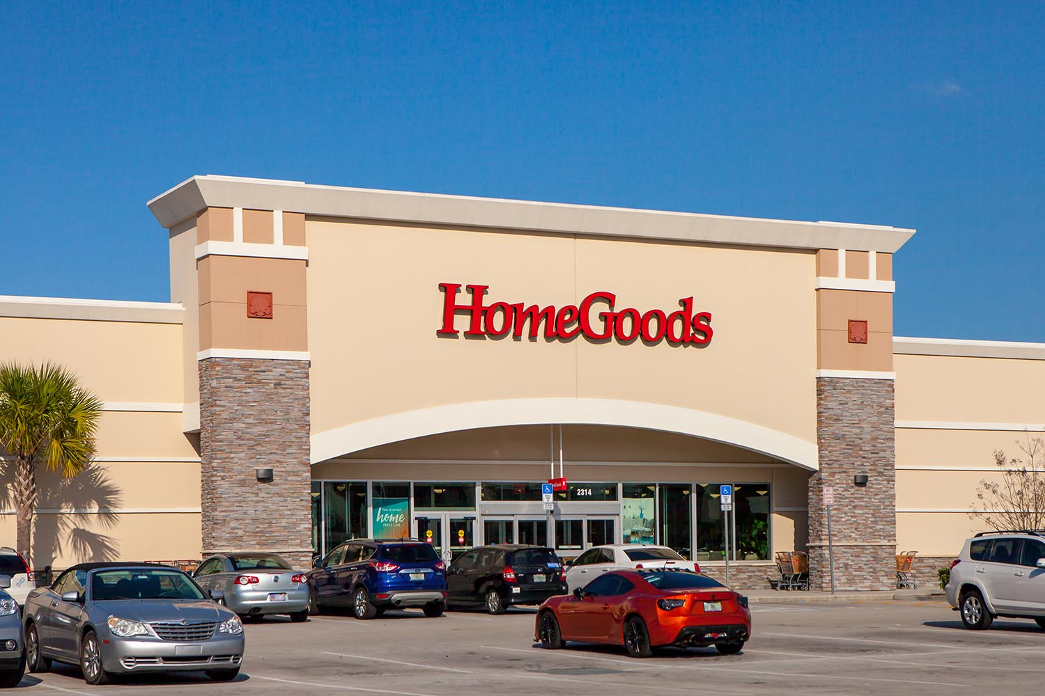 HomeGoods located in Viera