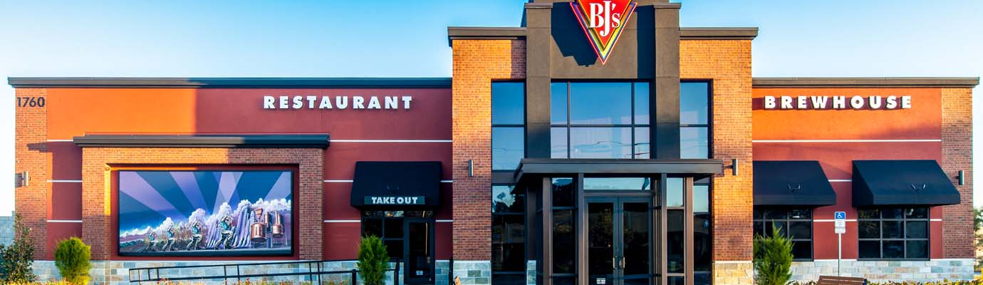 Alerion, Inc. Projects | BJ's Restaurant & Brewhouse